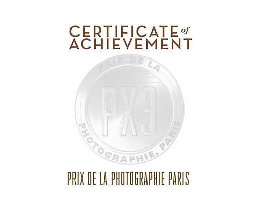 HONORABLE MENTION WINNER OF PX3, Prix de la Photographie Paris