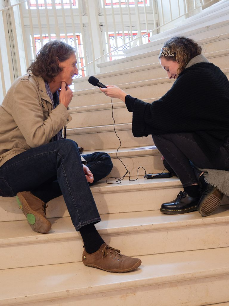 Interview by Apolline Magnet for Radio BAC FM